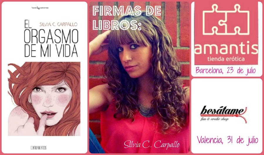 Firmas de libros en Barcelona y Valencia!